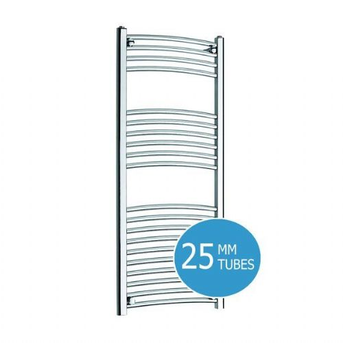 Kartell K-Rail Premium Curved Towel Rail - 600mm x 1000mm- Chrome